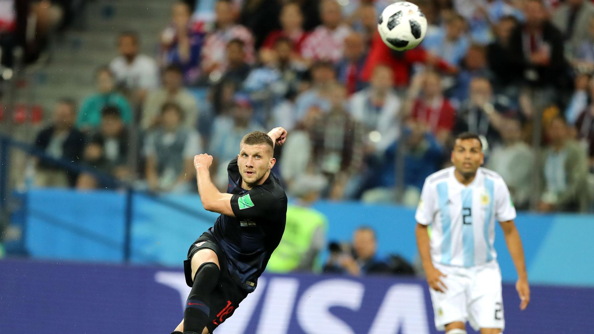 Ребич в матче против сборной Аргентины