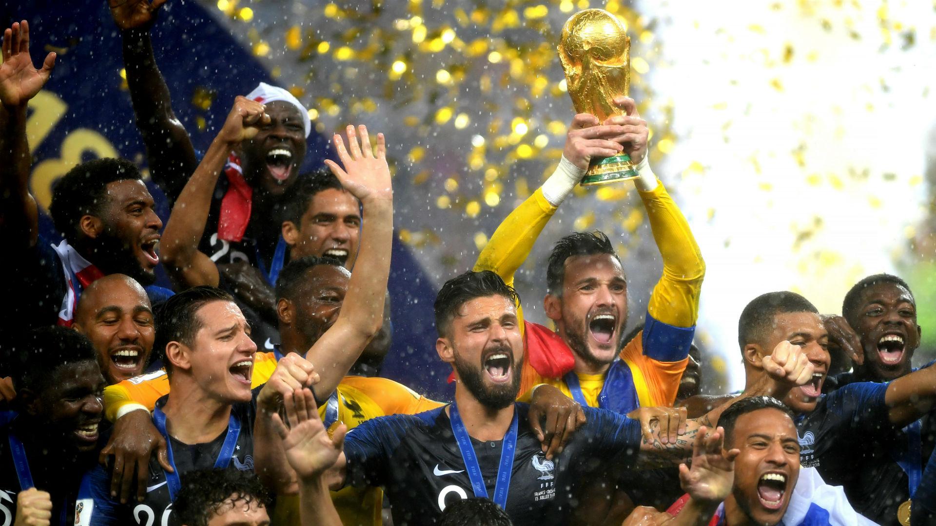 Сборная Франции - Чемпион мира 2018