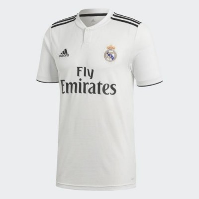 Футбольная футболка FC Real Madrid Домашняя 2018 2019 S/S 2XL(52)