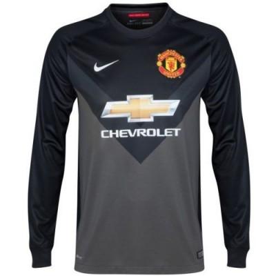 48f7641c1103 Футбольная форма вратарская детская FC Manchester United Гостевая 2014 2015  L S 2XL (рост